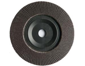 "7"" Aluminum Oxide Flap Disc with Plastic Base"