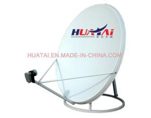 Ku Band 100cm Satellite Dish Antenna Ground Mount