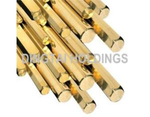 Hexagon Brass Rod