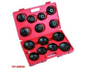 Oil Filter Cap Wrench Set 15PC (HY-2064A)