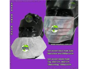 Disposable Beard Cover (WH - BC)