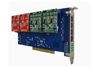 16 Ports Asterisk Analog/Telephony PCI Card