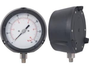 Solid Front Pressure Gauge with Phenolic Case (MY-SSFP)