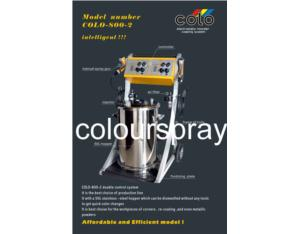 Double Guns for Powder Coating (colo-800-2)