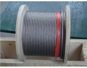 Stainless Steel Wire Rope 7x7 (AISI304, 316)