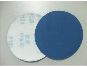 Blue Velcro Abrasive Disc