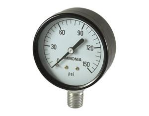 Ammonia Gauge, Steel Case