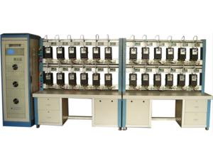 12 Position Three Phase Electricity Meter Test Bench