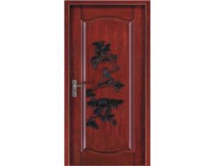 Solid Door (NTH-03)(With Nature Wood Veneer)