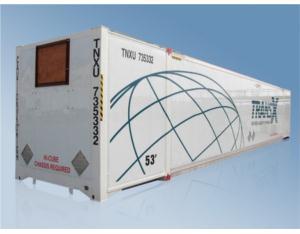 53' Aluminium Heating Container