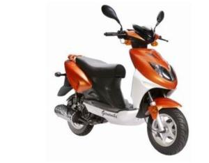 Gas Scooter (YL50QT-21D)