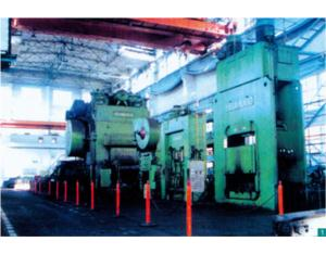 12,500t Hot Press Automatic Forging Line Imported from Russia by Hubei Forge Works