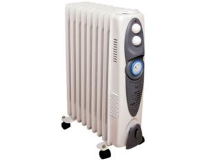 Oil Radiator With 400W Fan Heater & 24 Hours Timer (OFR-10TF)
