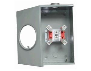 Electric Meter Cabinet