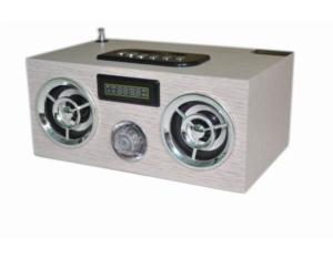 Portable Mini Speaker With SD, Udisk, Fm, Alarm. LCD