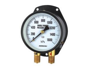 Double Pipe Pressure Gauge