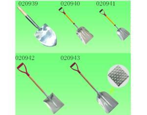 Alluminum Snow Shovel