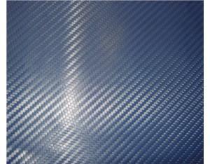Blue 3D Carbon Fiber Vinyl Sticker
