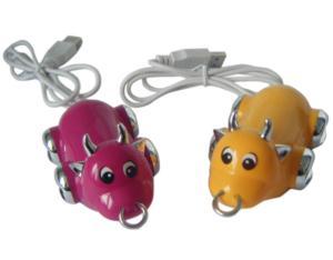 Cow-shaped USB HUB