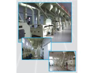 100t Rice Mill Line