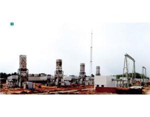 The Nigeria's Omotosho 8×42MW Power Pant