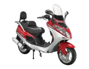 Gas Scooter (BD125T-4A-BK)