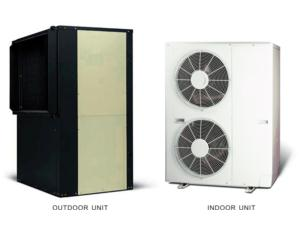 Evi Air to Air Heat Pump for Low Ambient Temperture -20º C