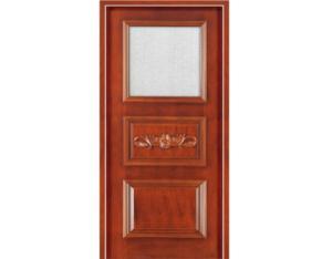 Wooden Door (NTQ-05-G)(with Nature Wood Veneer)