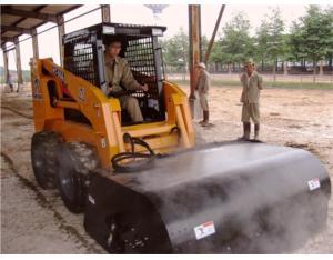 Skid Steer Loader Sweeping Equipment