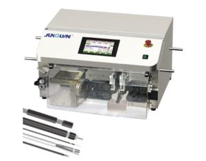 ZDBX-65A AUTOMATIC COAXIAL CABLE CUTTING-STRIPPING MACHINE
