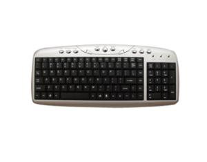 Multimedia Keyboard with USB Ports (P/N: TK1024)