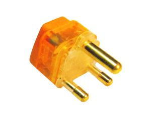 South Africa Plug Adapter (Grounded) (WAvs-10L. O. YL. L)