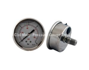 All Stainless Steel Pressure Gauge with Blow Out Disc (MY-SSD-001)