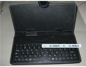 "Leather Case for 7 "" Table PC USB Keyboard (EC07-2)"