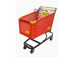 Plastic Shopping Cart (HYX- SC005)