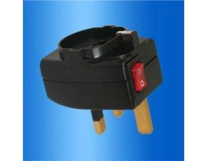 UK, Iraq Grounded Plug Adapter