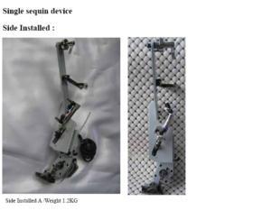 Single Sequin Machine Device