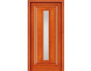 Wooden Door (NTQ-02-G)(with Nature Wood Veneer)