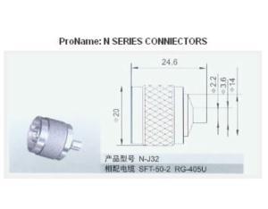 N Series Coaxial Connector (N-J32)