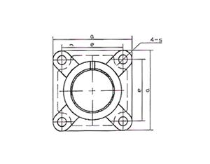 Ball Bearing Housing (FX00 Series)