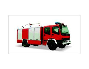 Foam Fire Vehicle (JDX5150GXFPM55W)