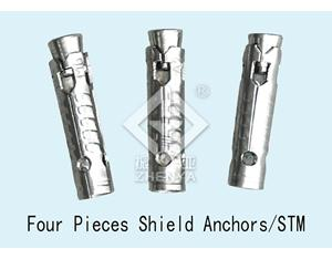 Four Pieces Shield Anchor
