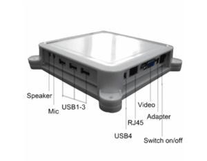 Thin Client With Four USB Ports Inbuild Windows CE
