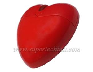 Heart-Shaped Optical Gift Mouse (S1-A-371A)