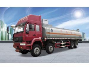 HOWO Fuel Truck 8*4 Lhd Drive
