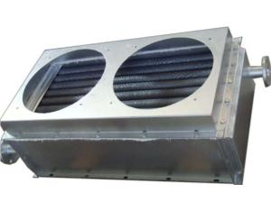 Air Heat Exchanger With Evaporation Fan