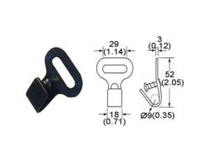 Flat & Snap Hooks (MH67B-61)