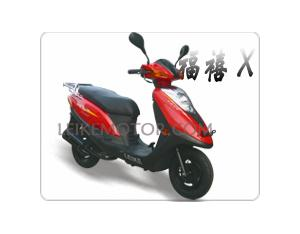 Gas Scooter FX-X (LK50QT-13)