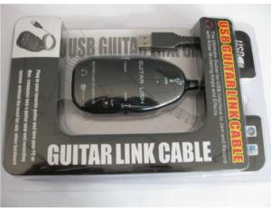 USB Guitar Link Cable Guitar to PC Audio Recording Cable Device
