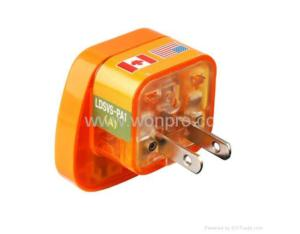 Japan, Us Ungrounded Plug Adapter (WASvs-6. O. YL. L)